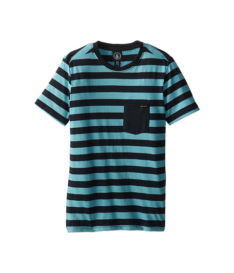 Volcom Kids - Cromly Crew (Big Kids) (Atlantic) Boy's T Shirt