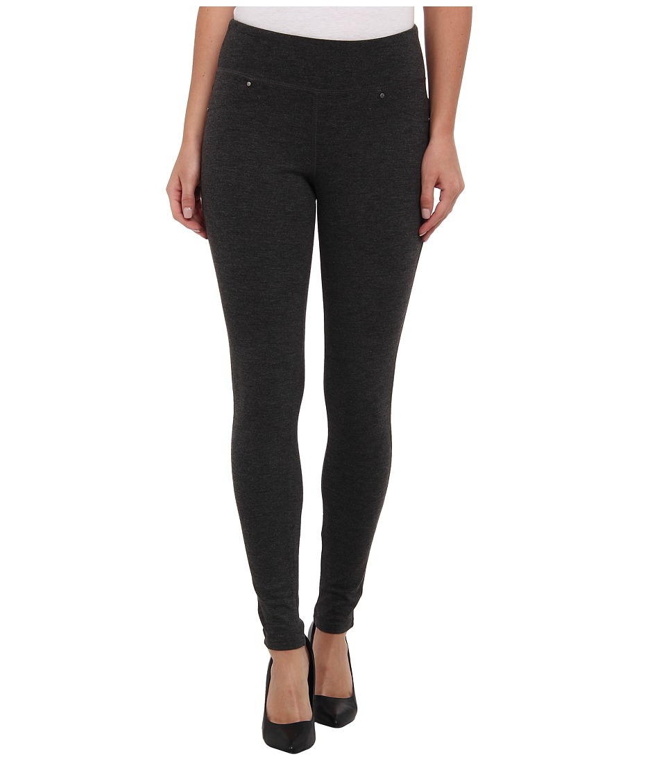 Jag Jeans - Ricki Pull-On Legging Double Knit Ponte (Charcoal Heather) Women's Casual Pants