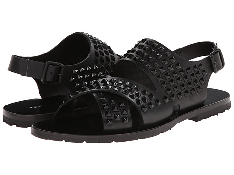DSQUARED2 - Tux Studded Sandal (Black) Men's Sandals