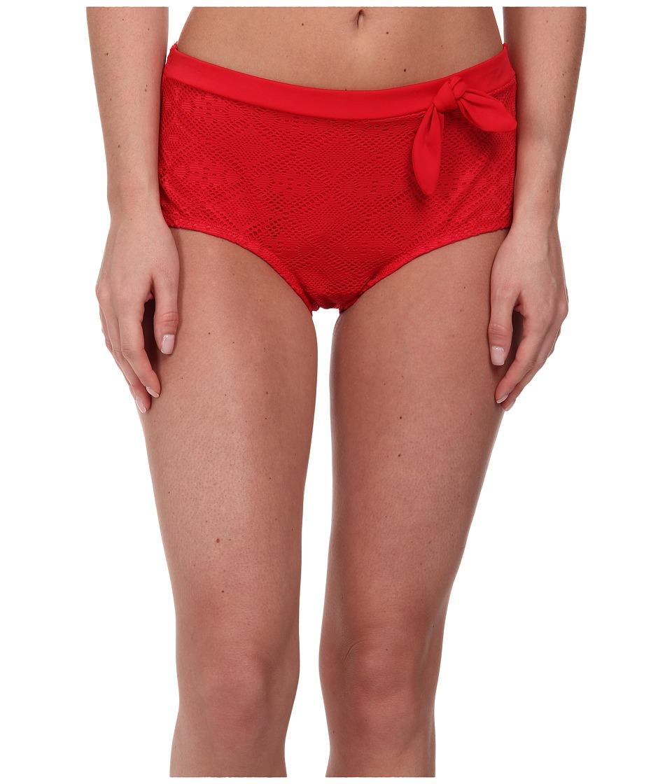 Christin Michaels - Rann Hipster (True Red) Women's Swimwear