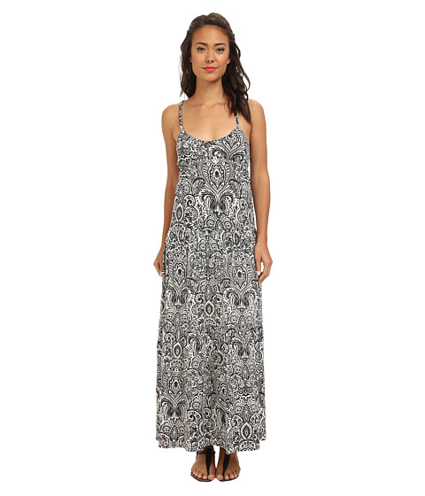 Rip Curl - Golden Coast Maxi Dress (Grey) Women's Dress
