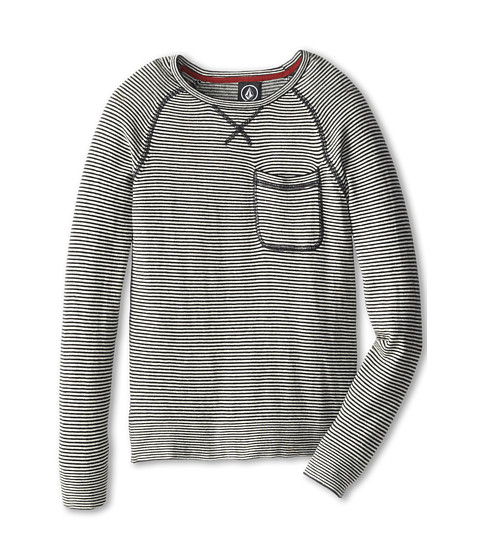 Volcom Kids - Standard Sweater (Big Kids) (Black Stripe) Boy's Sweater