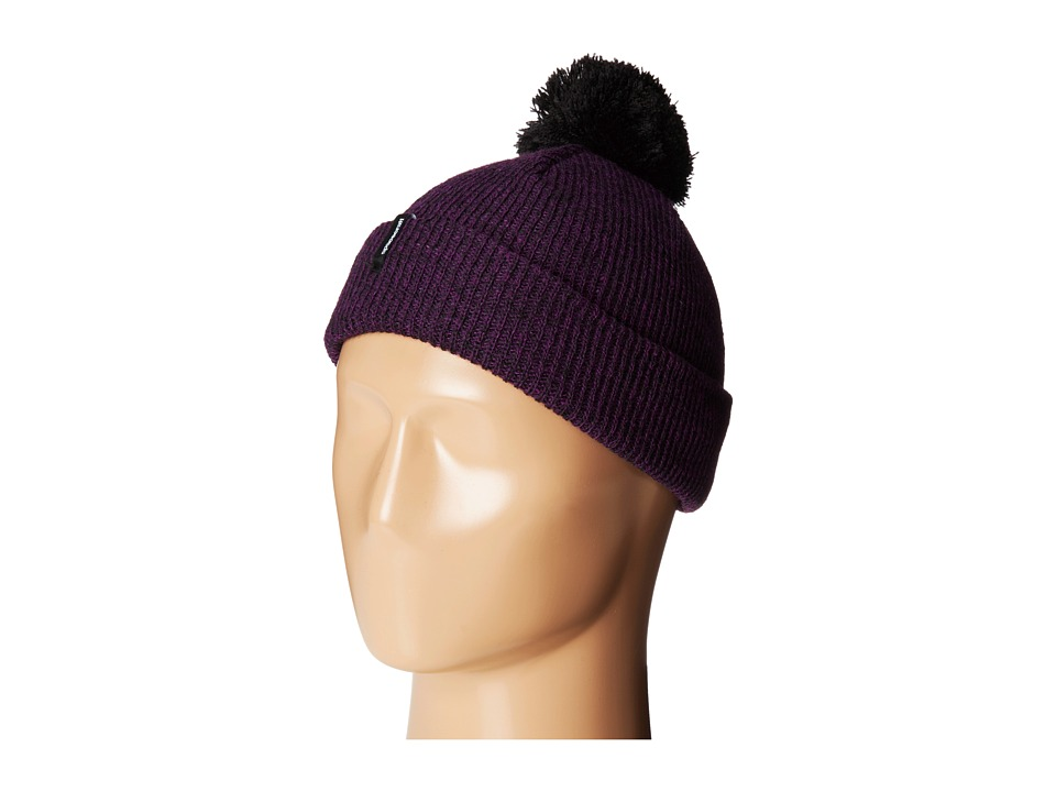 Spacecraft - Peppered Pom (Purple) Beanies
