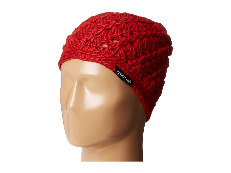 Spacecraft - Madeline (Red) Beanies