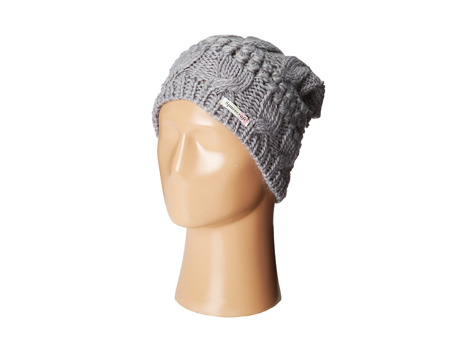 Spacecraft - Juniper (Gray) Beanies