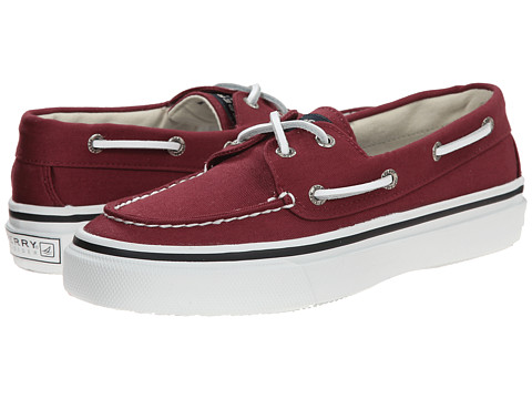 Sperry Top-Sider - Bahama 2-Eye Varsity (Burgundy) Men's Slip on Shoes