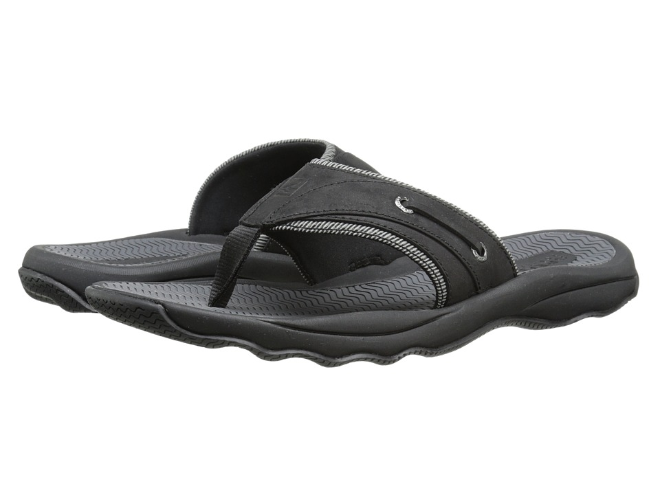 Sperry Top-Sider - Outer Banks Thong (Black) Men's Sandals