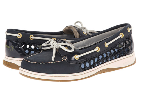 Sperry Top-Sider - Angelfish 2 Eye Cane Woven (Navy) Women's Shoes