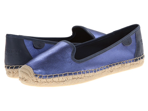 Sperry Top-Sider - Coco Metallic Kid Suede (Blue) Women
