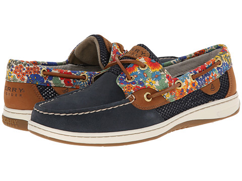 Sperry Top-Sider - Bluefish 2 Eye Liberty (Navy Bright Blue) Women