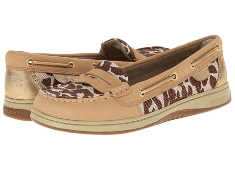 Sperry Top-Sider - Pennyfish Shimmer Leopard (Linen) Women