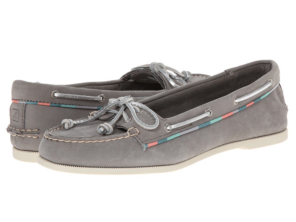 Sperry Top-Sider Audrey Satin Piping (Charcoal) Women
