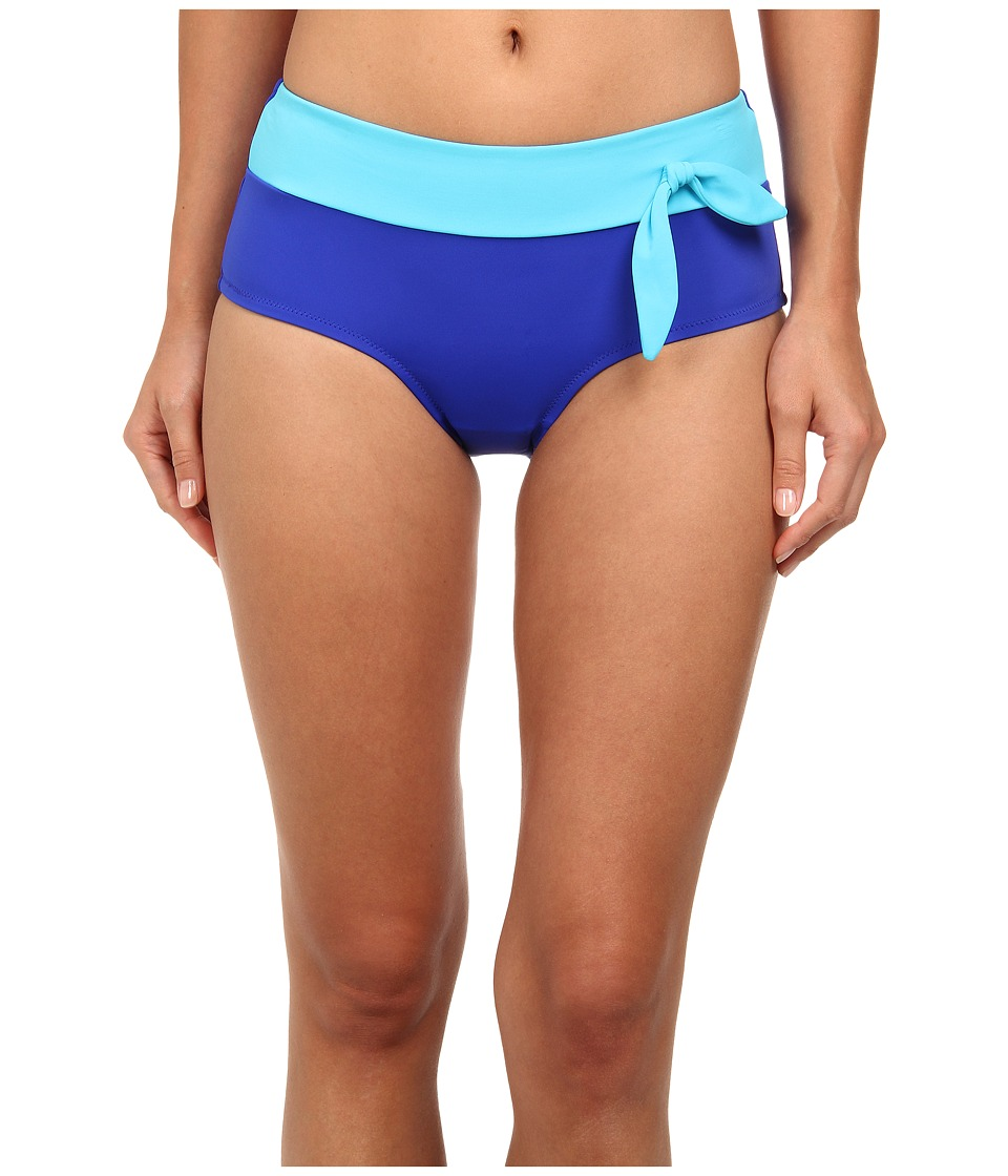 Christin Michaels - Eos Hipster (Bright Blue/Sea Blue) Women's Swimwear