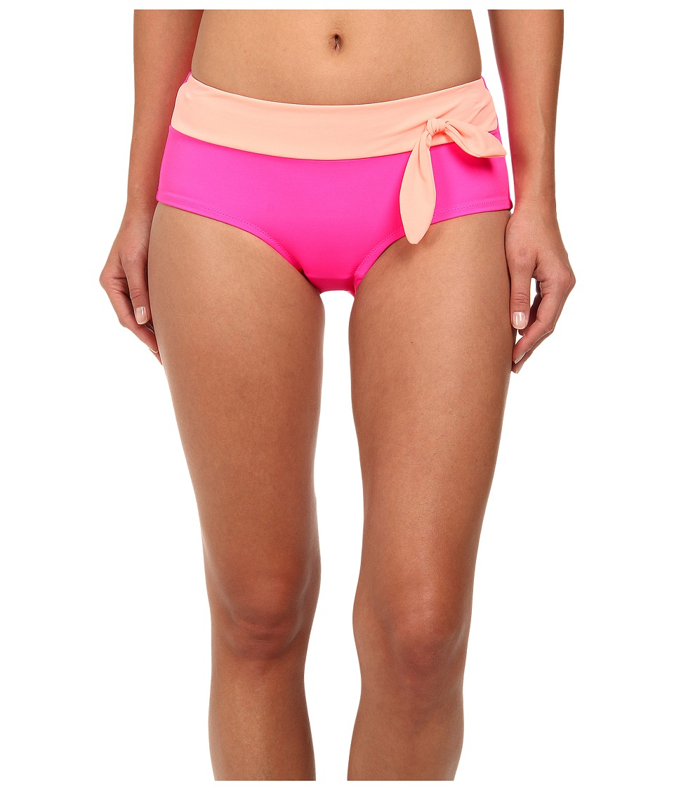 Christin Michaels - Eos Hipster (Melon/Acid Pink) Women's Swimwear