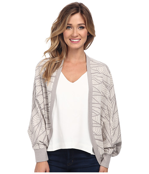 Alternative - Jacquard Cocoon Wrap (Stone) Women