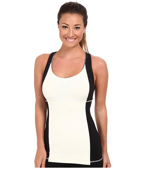 MSP by Miraclesuit - Scoop Neck Tank (Whisper White) Women's Sleeveless