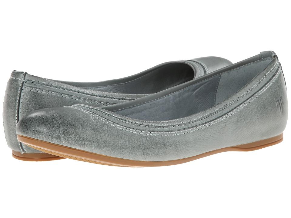 Frye - Agnes Ballet (Aqua Soft Vintage Leather) Women