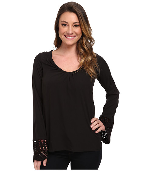 Rip Curl - Kadence Shirt (Black) Women's Long Sleeve Pullover