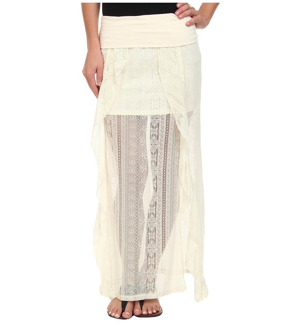 Rip Curl - Cross Your Heart Skirt (Vanilla) Women