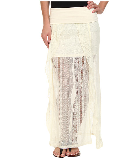 Rip Curl - Cross Your Heart Skirt (Vanilla) Women's Skirt