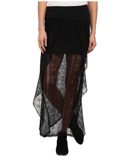 Rip Curl - Cross Your Heart Skirt (Black) Women