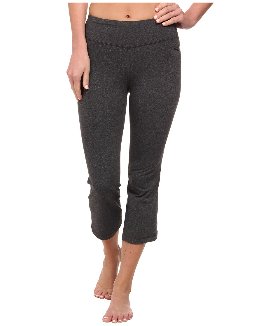 The North Face - Tadasana Capri (Asphalt Grey Heather) Women's Capri