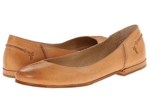 Frye - Callie Ballet (Natural Soft Full Grain) Women
