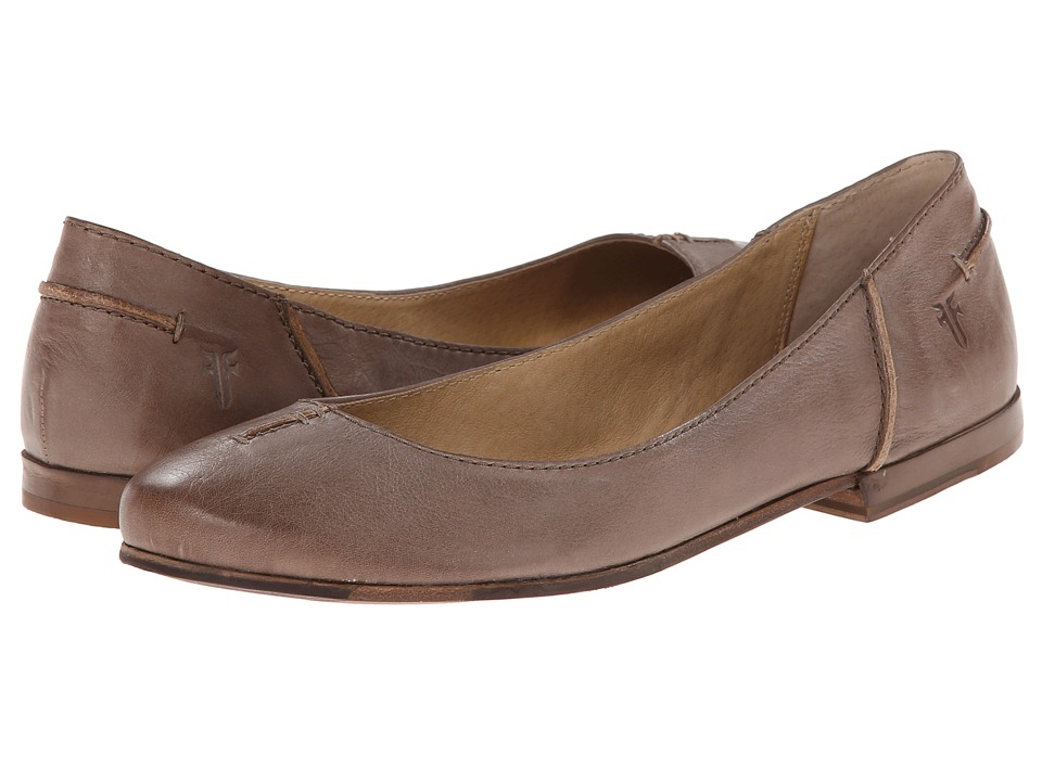 Frye - Callie Ballet (Slate Soft Full Grain) Women