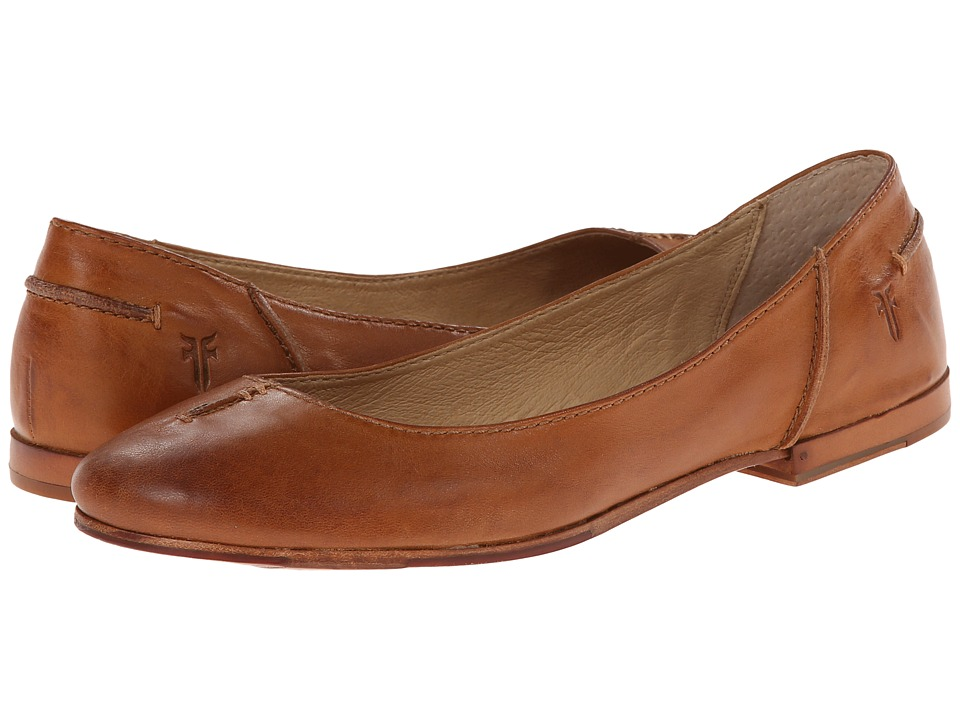 Frye - Callie Ballet (Whiskey Soft Full Grain) Women