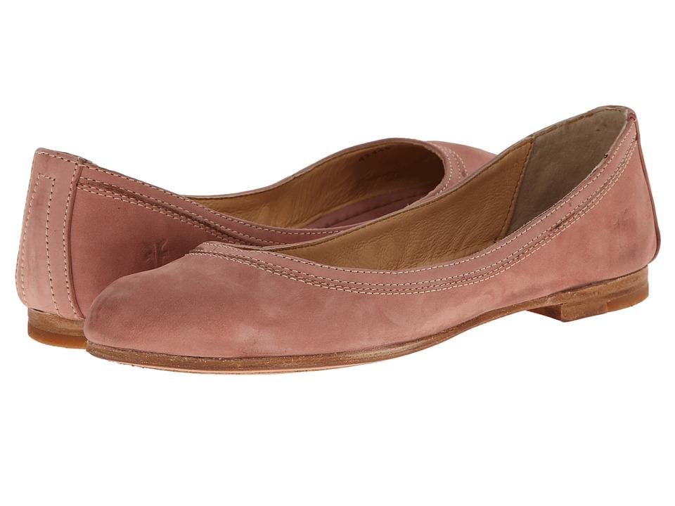 Frye - Carson Ballet (Dusty Rose Buffed Nubuck) Women's Flat Shoes