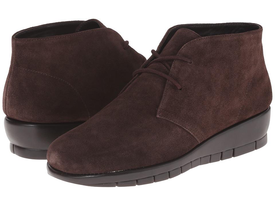 Aerosoles - Landlock (Dark Brown Suede) Women's Shoes
