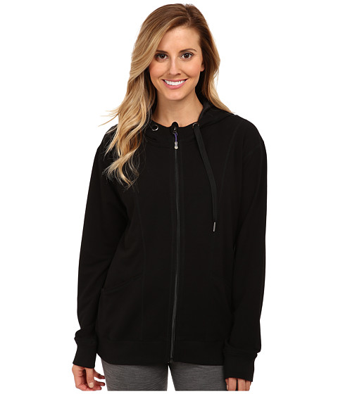 MSP by Miraclesuit - Matte Shine Hooded Jacket (Black) Women's Jacket
