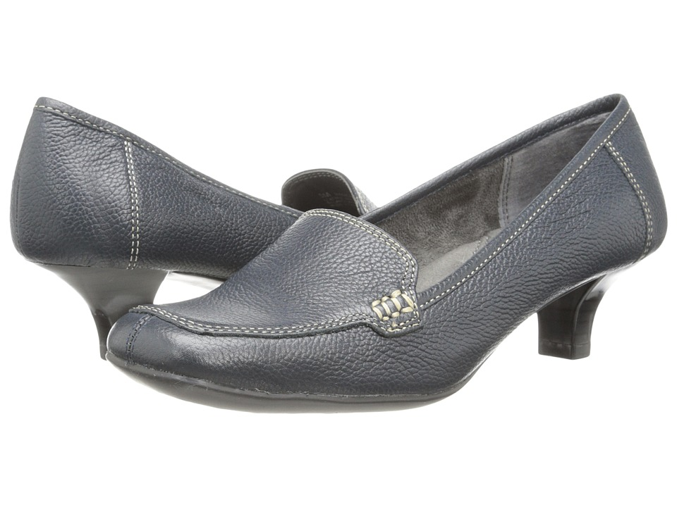 Aerosoles - Magical Power (Navy Leather) Women