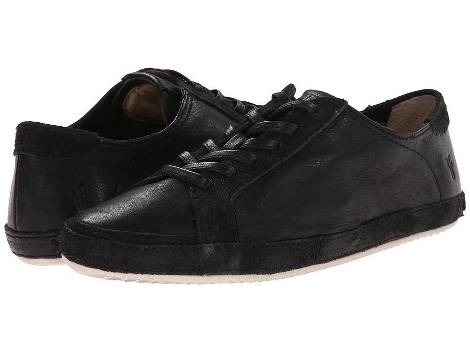 Frye - Dean Artisan Low (Black Tumbled Full Grain) Women's Lace up casual Shoes