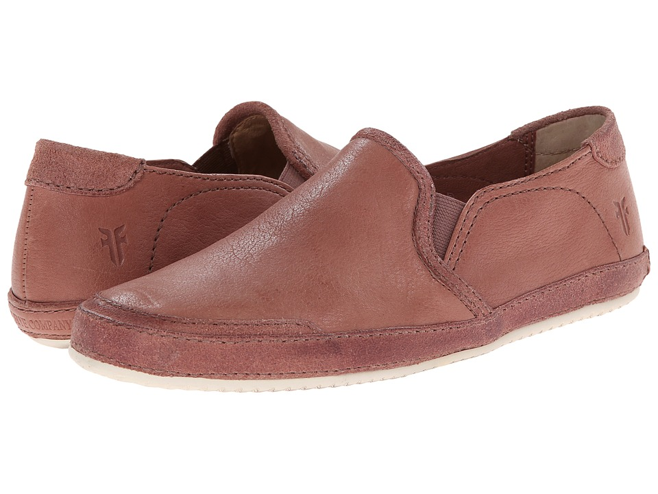 Frye - Dean Artisan Slip (Dusty Rose Tumbled Full Grain) Women