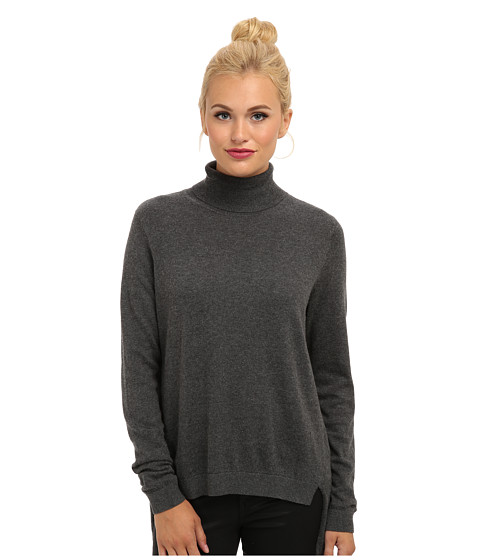 French Connection - Bambino Knits 78CAK (Dark Grey Melange) Women's Sweater