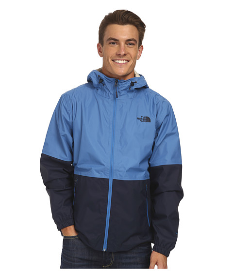 The North Face - Allabout Jacket (Heron Blue/Outer Space Blue) Men's Coat