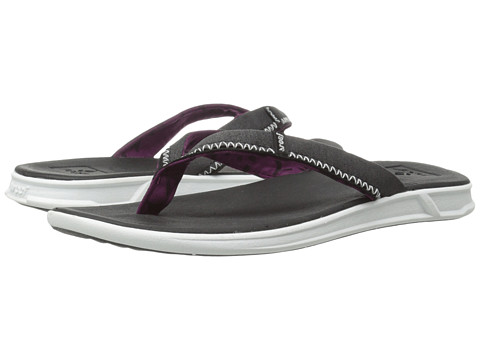 Reef - Rover SL (Black/White) Women's Sandals