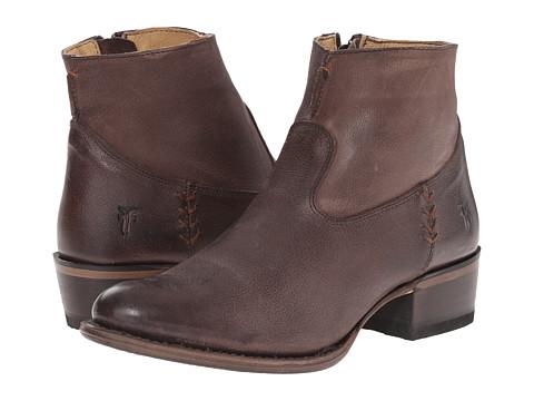 Frye - Diana Stitch (Taupe Buffalo Nubuck) Cowboy Boots