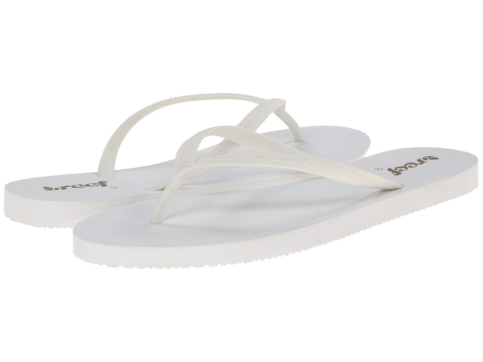 Reef - Chakras (White) Women's Sandals