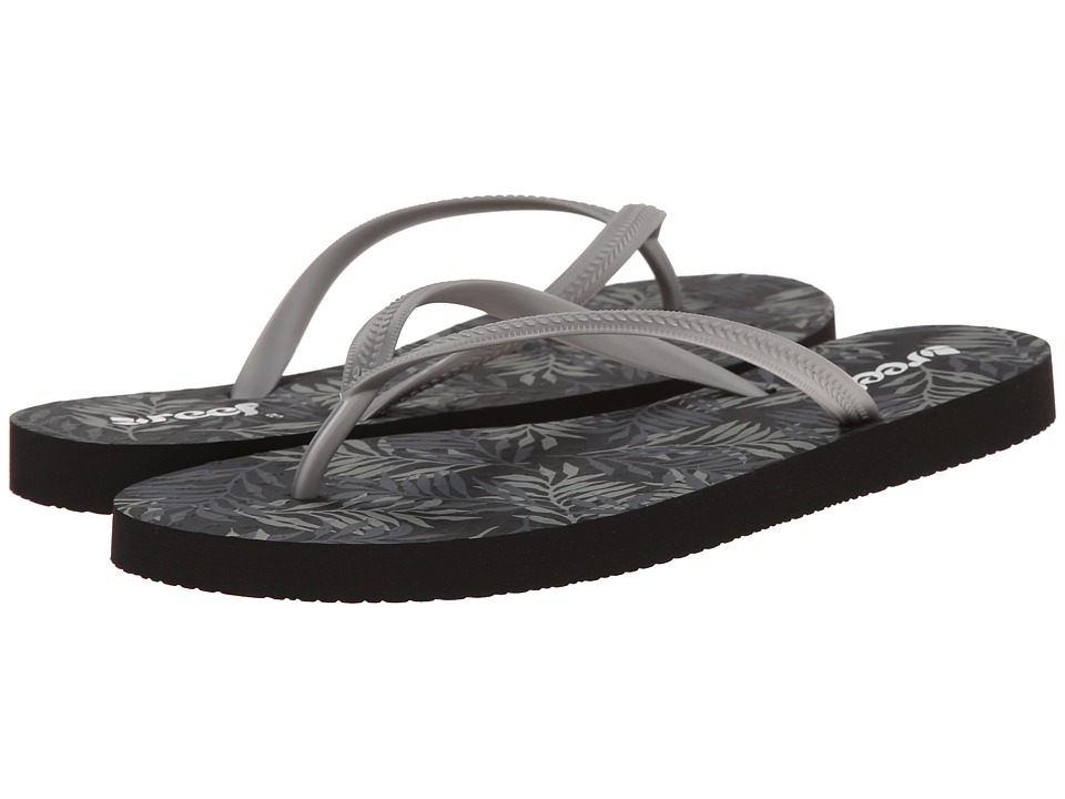 Reef - Chakras (Black Palms) Women's Sandals