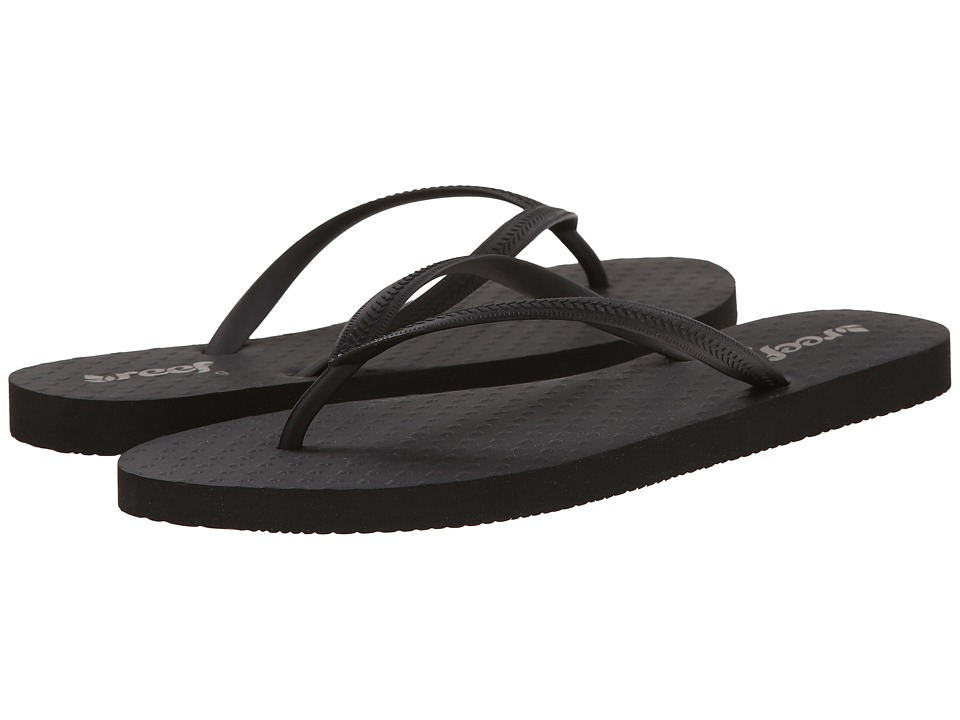 Reef - Chakras (Black) Women's Sandals