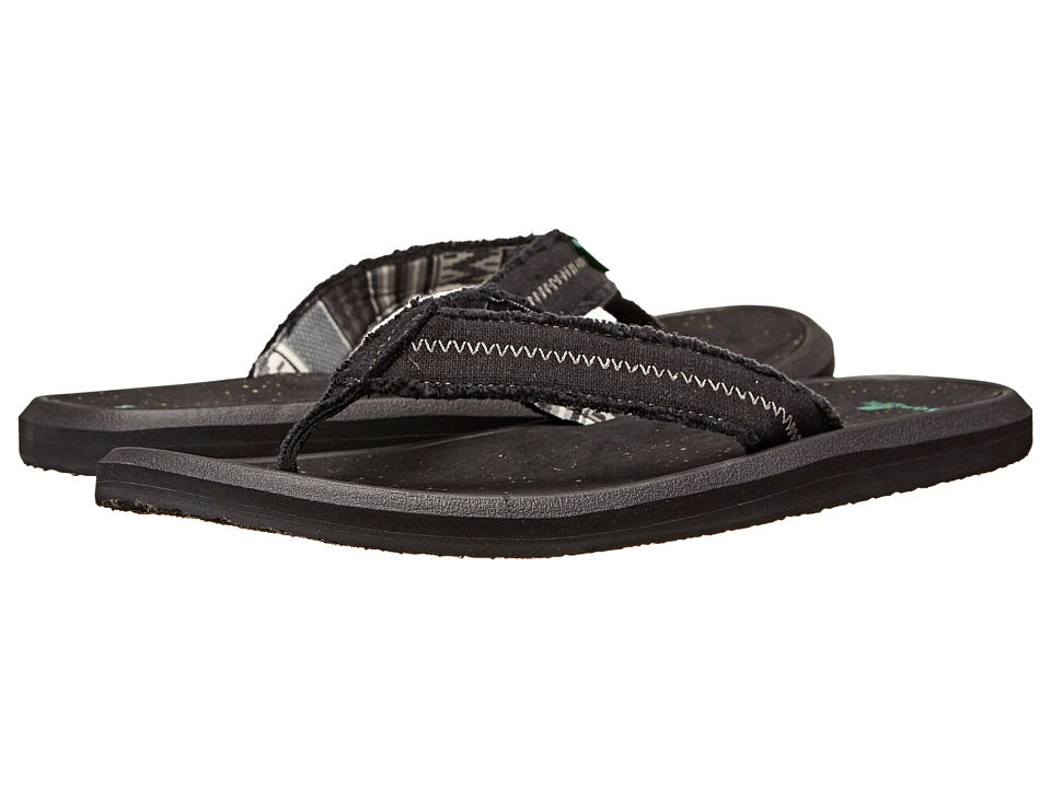 Sanuk - Vineyard (Black) Men's Sandals