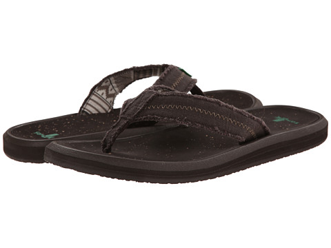 Sanuk - Vineyard (Dark Brown) Men's Sandals