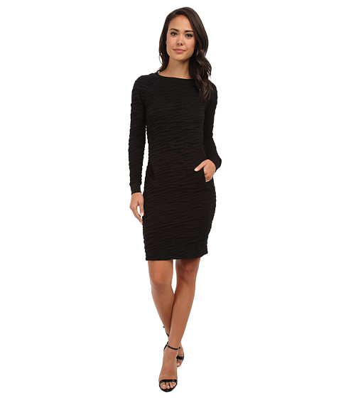 French Connection - Rocky Road Sweat 71CJA (Black) Women's Dress