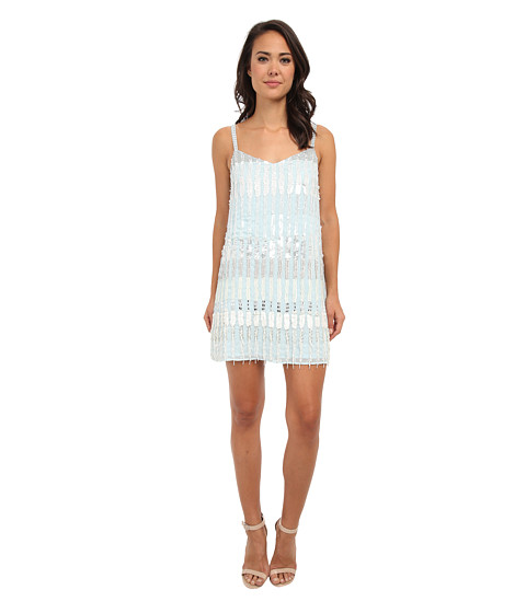 French Connection - Siberian Sequin 71CHI (Morning Frost Multi) Women's Dress