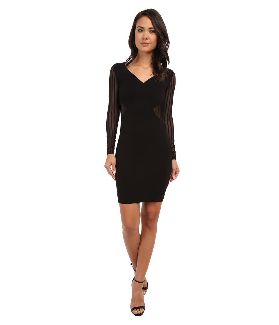 French Connection - Liv Jersey 71CLF (Black/Black) Women's Dress