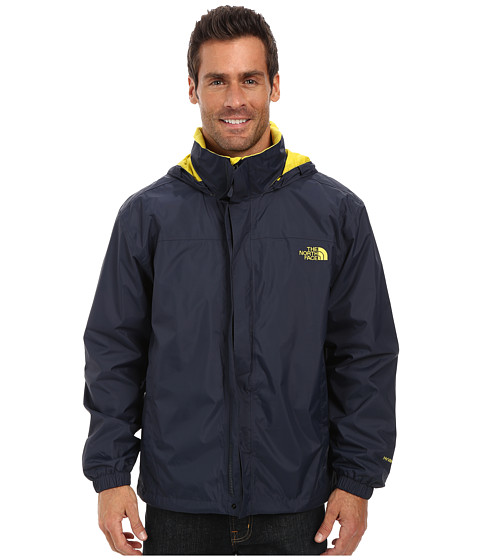 The North Face - Resolve Jacket (Outer Space Blue/Acid Yellow) Men's Sweatshirt