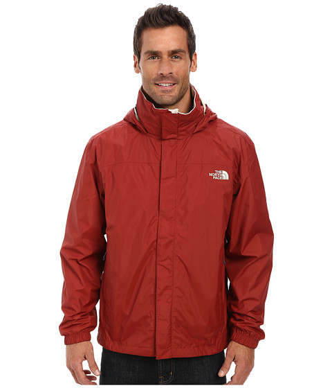 The North Face - Resolve Jacket (Rosewood Red/Moonstruck Grey) Men