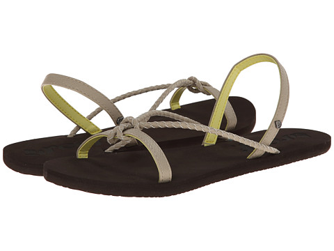 Reef - Knots and Bolts (Grey/Yellow) Women's Sandals